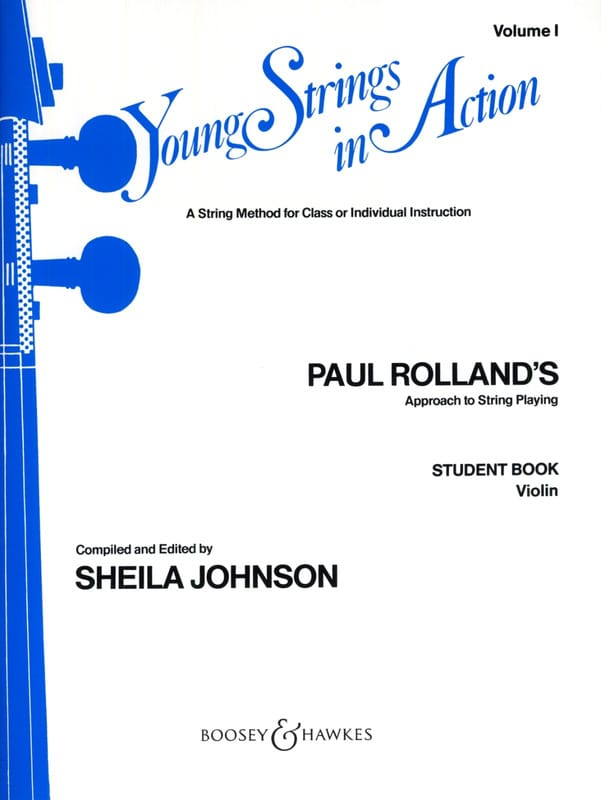Paul Rolland - Young strings in action, Volume 1 - Student - Violin - Partition - di-arezzo.fr