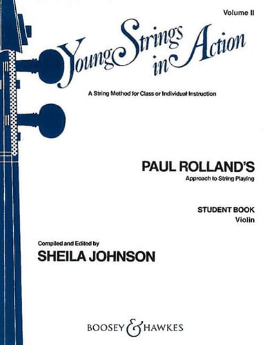 Paul Rolland - Young strings in action, Volume 2 - Student - Violin - Partition - di-arezzo.fr