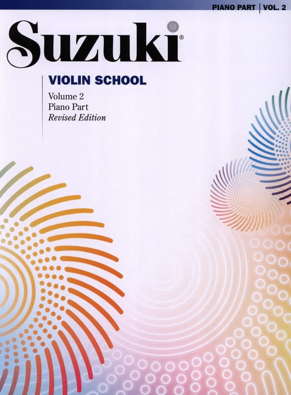 Suzuki - Violin School Volume 2 - Piano Accompaniment - Partition - di-arezzo.co.uk