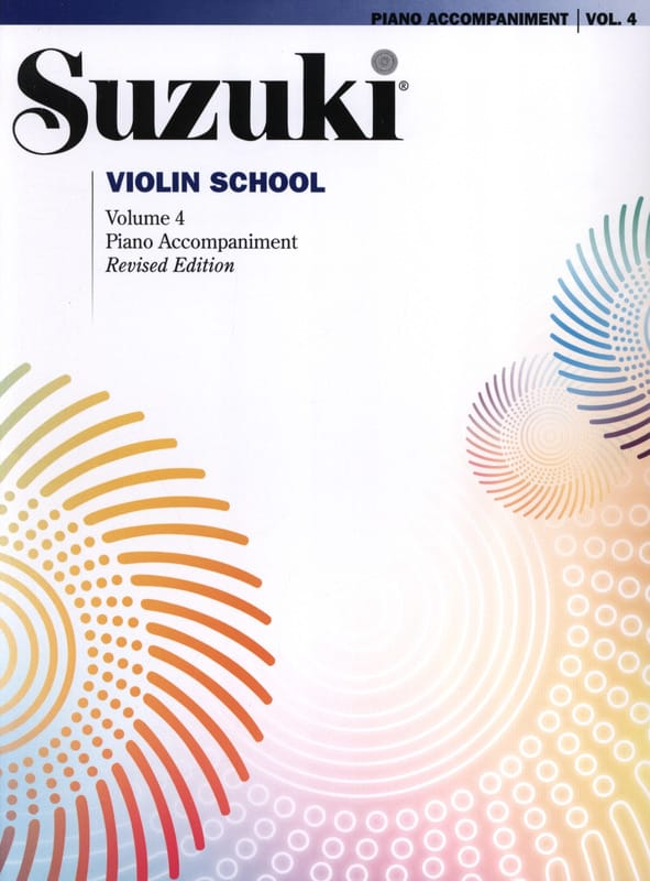 Suzuki - Violin School Vol.4 - Piano Accompaniment - Partition - di-arezzo.co.uk