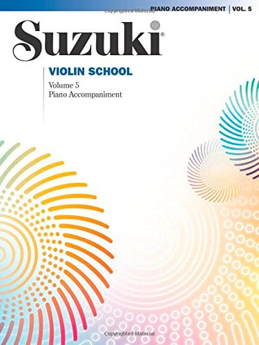 Suzuki - Violin School Vol.5 - Piano Accompaniment - Partition - di-arezzo.co.uk