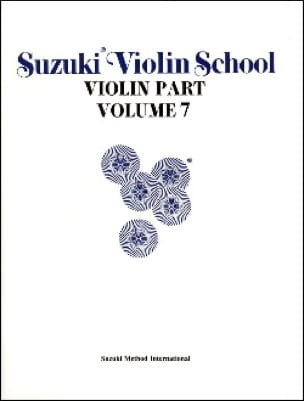 Suzuki - Violin School Vol.7 - Violin Part - Partition - di-arezzo.co.uk