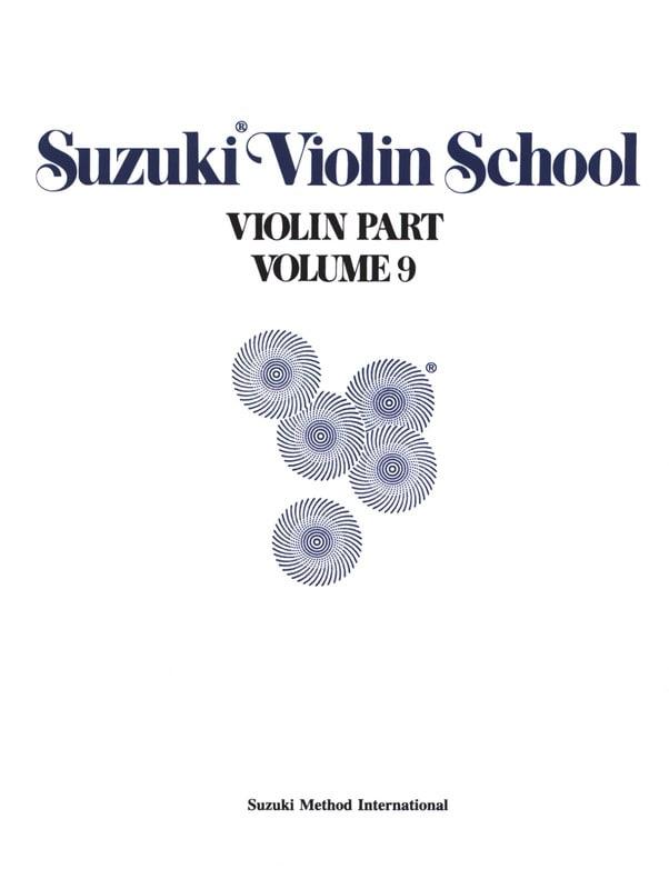 Violin School Vol.9 - Violin Part - SUZUKI - laflutedepan.com