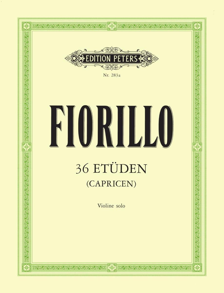 36 Etudes Davisson - Frederigo Fiorillo - Partition - laflutedepan.com