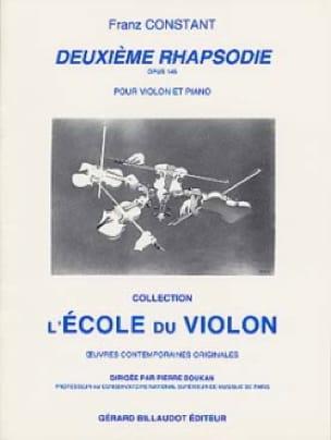 Deuxième rhapsodie op. 145 - Franz Constant - laflutedepan.com