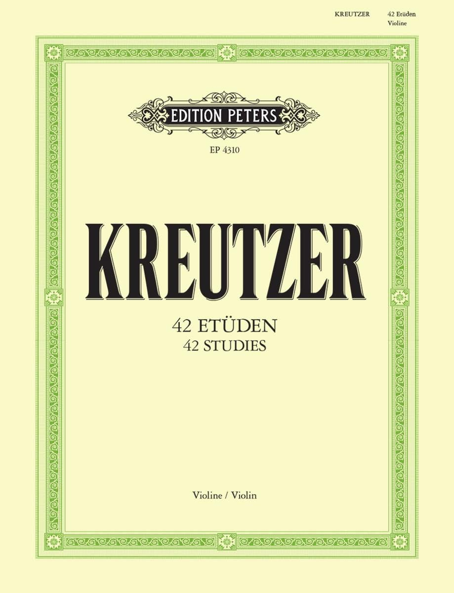 Rodolphe Kreutzer - 42 Studies - Partition - di-arezzo.com