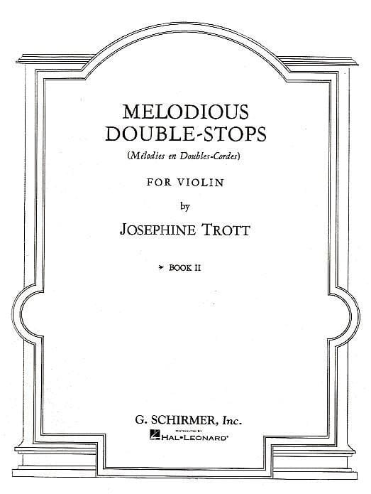 Josephine Trott - Melodious double stops - Volume 2 - Partition - di-arezzo.com
