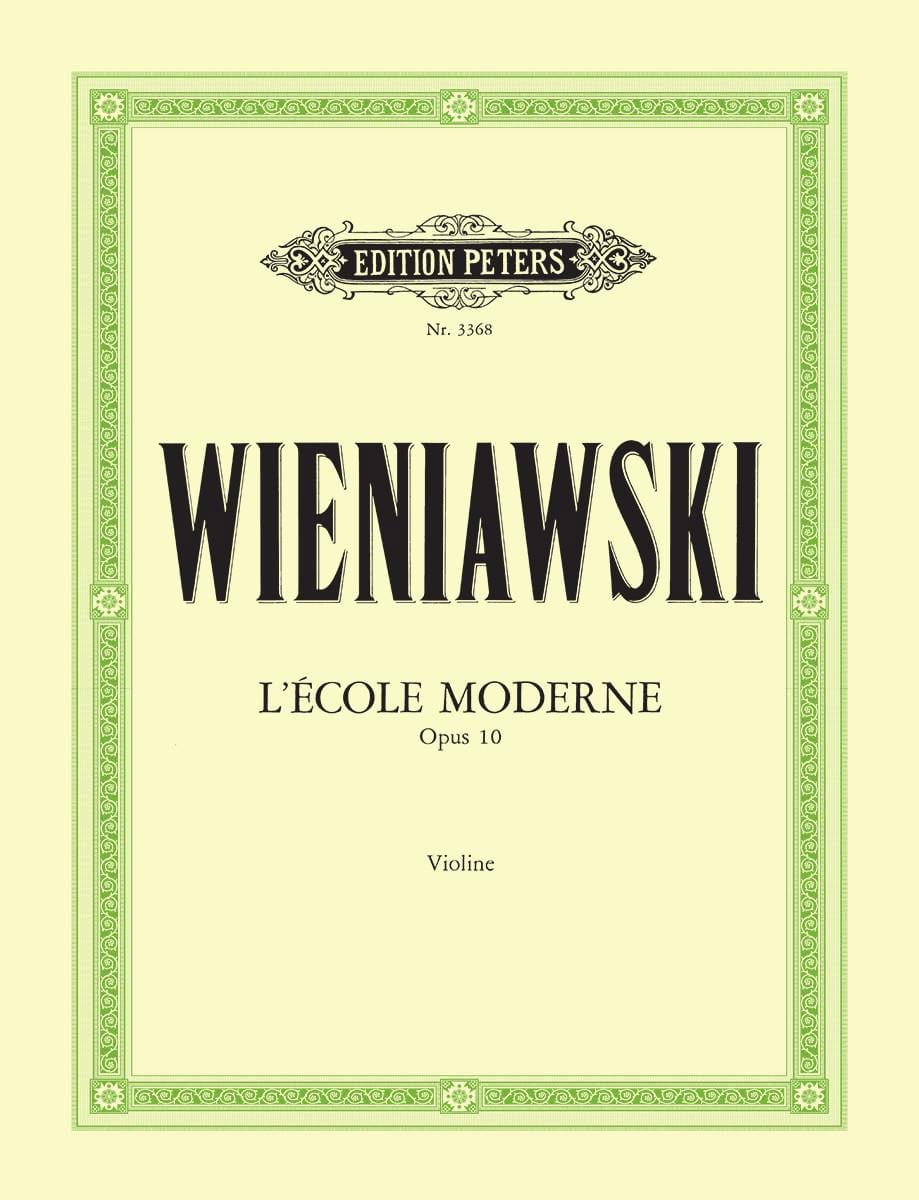 WIENIAWSKI - The Modern School Op.10 - Partition - di-arezzo.co.uk