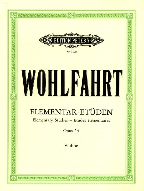 Franz Wohlfahrt - Elementary Studies op. 54 - Partition - di-arezzo.co.uk