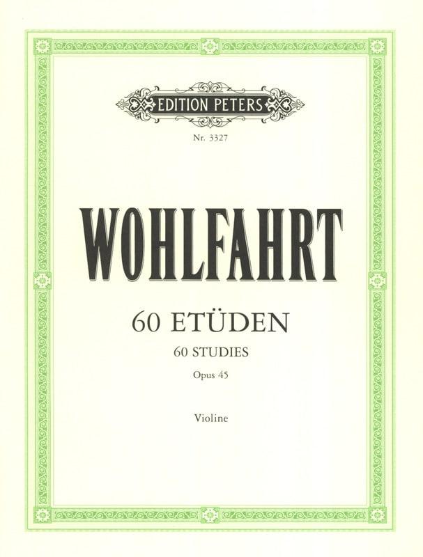 Franz Wohlfahrt - 60 Etudes Op. 45 - Partition - di-arezzo.co.uk