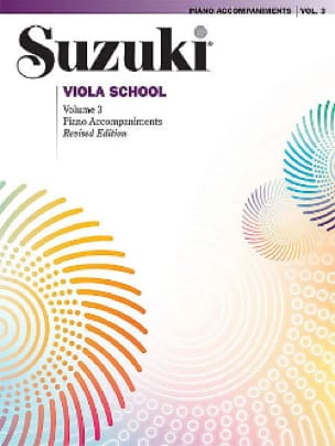 Suzuki - Viola School Vol.3 - Piano Accompaniment - Partition - di-arezzo.com