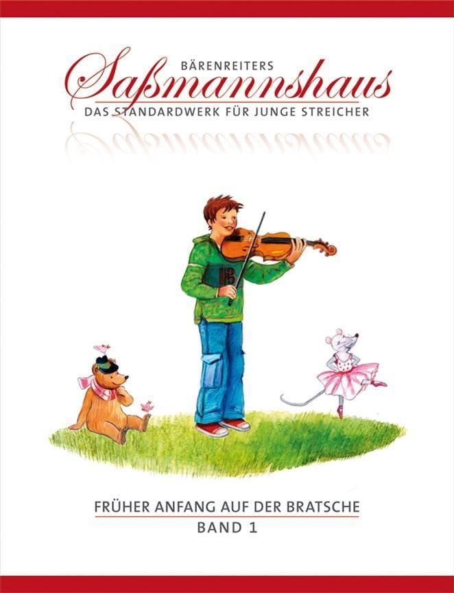 Egon Sassmannshaus - Früher Anfang Auf Der Bratsche Volume 1 - Partition - di-arezzo.co.uk