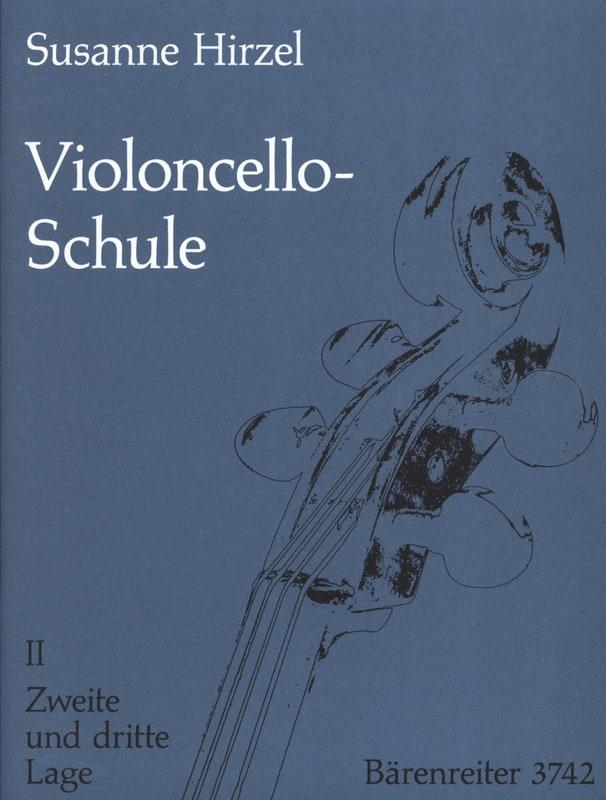 Violoncello-Schule - Heft. 2 - Susanne Hirzel - laflutedepan.com