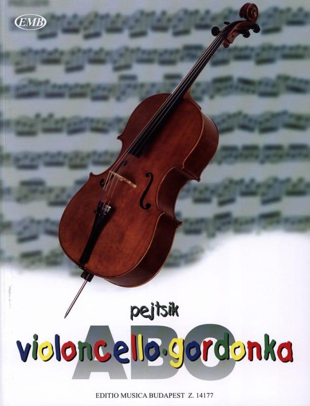 Arpad Pejtsik - ABC Violoncello - Partition - di-arezzo.co.uk