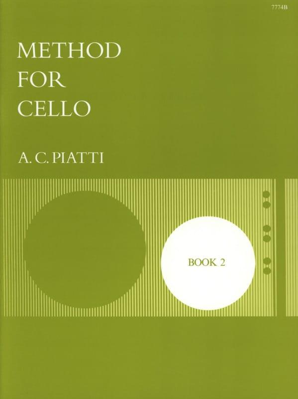 Method for Cello - Book 2 - A. C. Piatti - laflutedepan.com