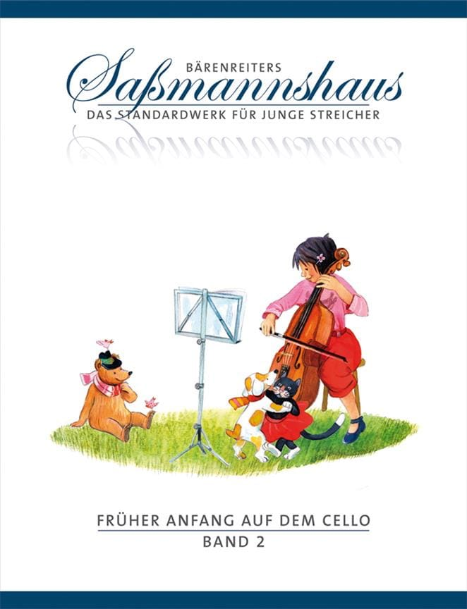 Früher Anfang Auf Dem Cello Vol.2 - laflutedepan.com
