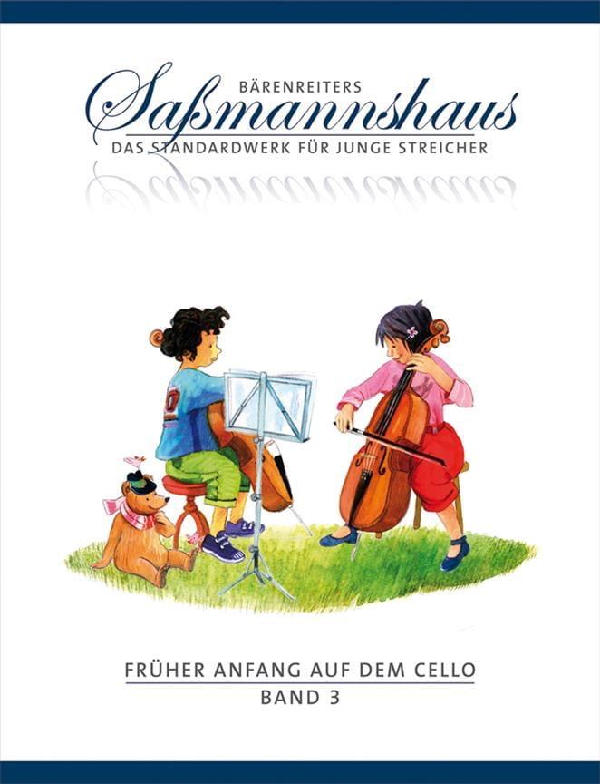 Früher Anfang Auf Dem Cello Vol.3 - laflutedepan.com