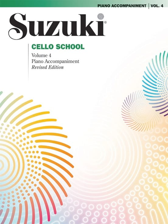 Suzuki - Cello School Volume 4 - Piano-Acc. - Partition - di-arezzo.co.uk