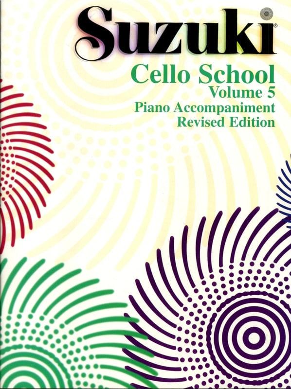 Suzuki - Cello School Volume 5 - Piano Accompaniment - Partition - di-arezzo.fr