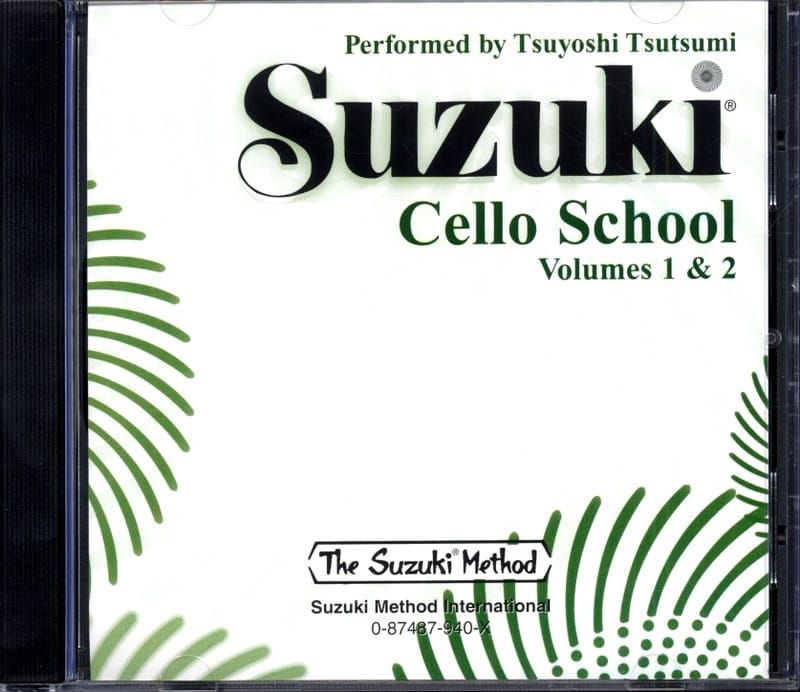 Suzuki - Cello School Volume 1-2 - CD - Partition - di-arezzo.co.uk