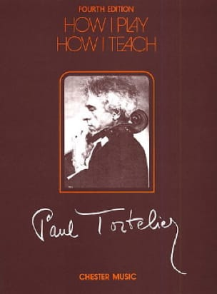 How I play, How I teach - Paul Tortelier - laflutedepan.com