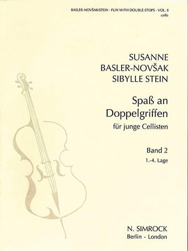 Basler-Novsak Susanne / Stein Sibylle - Fun with double-stops - Book 2 - Partition - di-arezzo.co.uk