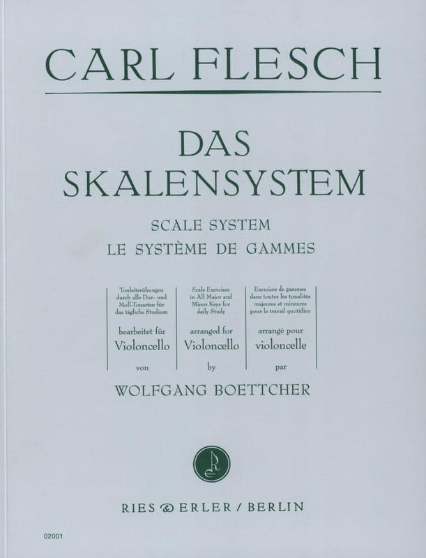 Carl Flesch - The Range System - Cello - Partition - di-arezzo.co.uk