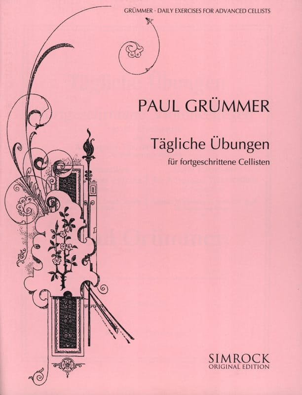 Paul Grümmer - Daily exercises for advanced cellists - Partition - di-arezzo.co.uk