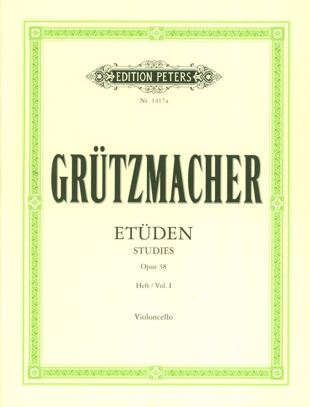 Friedrich Grützmacher - 24 Etüden op. 38 - Heft 1 - Partition - di-arezzo.co.uk