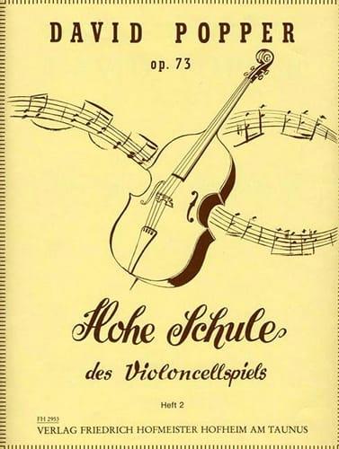 David Popper - Hohe Schule of Violoncellspiels op.73, Heft 2 - Partition - di-arezzo.co.uk
