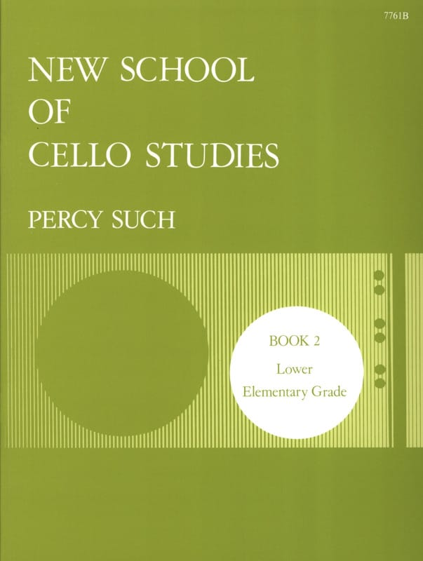 Percy Such - New School Of Cello Studies Volume 2 - Partition - di-arezzo.co.uk