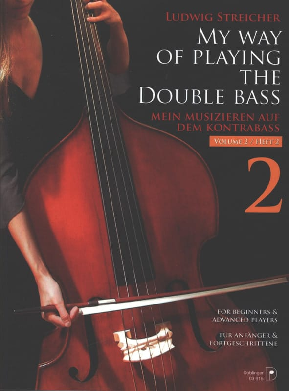 Ludwig Streicher - My way of playing the double bass, Volume 2 - Partition - di-arezzo.fr