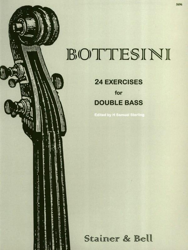 24 Exercices for Double bass - BOTTESINI - laflutedepan.com