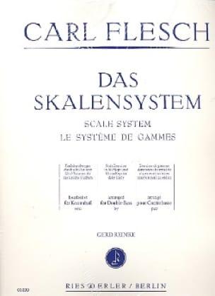 Le Système de Gammes - Contrebasse - Carl Flesch - laflutedepan.com