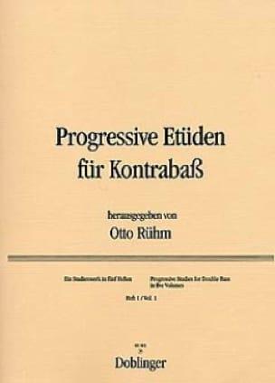 Progressive Etüden für Kontrabass, Heft 1 - laflutedepan.com