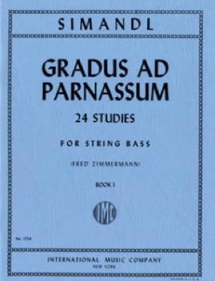 Franz Simandl - Gradus ad Parnassum, Volume 1 - Bajo de cuerda - Partition - di-arezzo.es