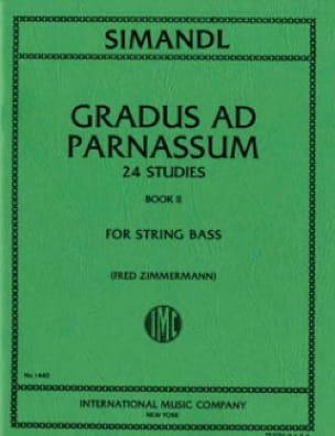 Franz Simandl - Gradus ad Parnassum, Volume 2 - Bajo de cuerda - Partition - di-arezzo.es
