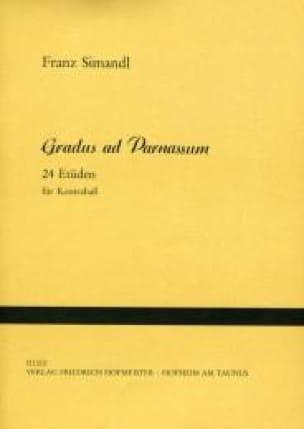 Franz Simandl - Gradus ad Parnassum - Kontrabass - Partition - di-arezzo.es