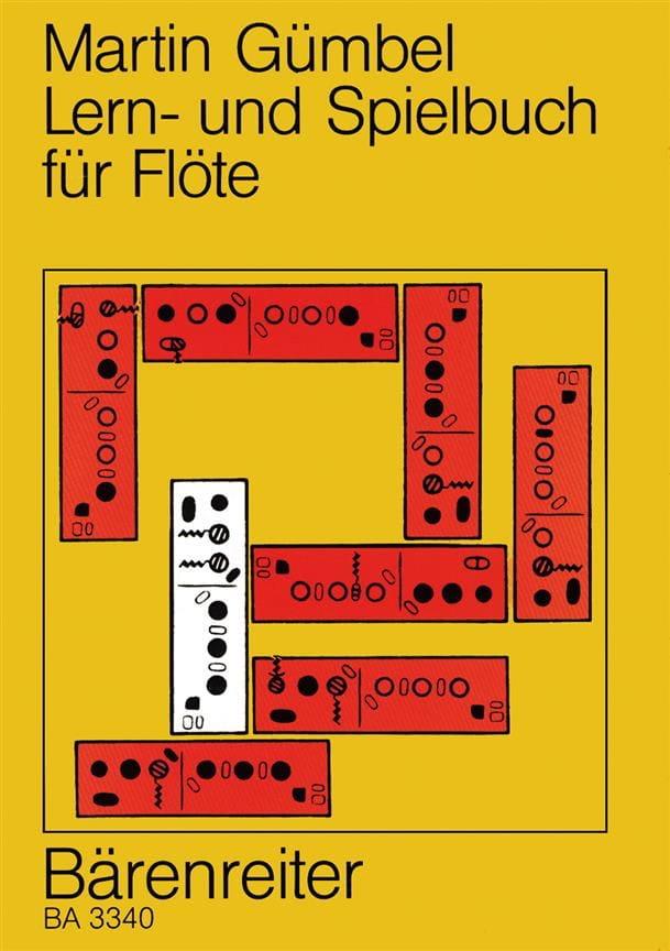 Lern- und Spielbuch für Flöte - Martin Gümbel - laflutedepan.com
