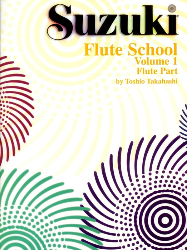 Flute School - Volume 1 - Flute Part - Suzuki - laflutedepan.com
