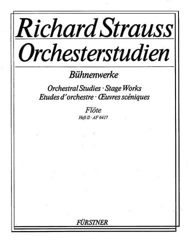 Orchesterstudien Bühnenwerke - Bd. 2 - laflutedepan.com