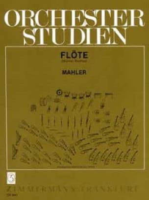 Orchesterstudien - Flöte - MAHLER - Partition - laflutedepan.com