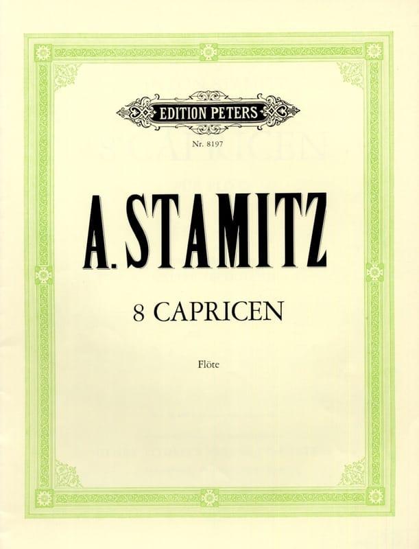 8 Capricen - Flöte - STAMITZ - Partition - laflutedepan.com