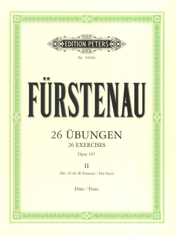 Anton Bernhard Fürstenau - 26 Übungen op. 107 - Bd. 2 - Partition - di-arezzo.es