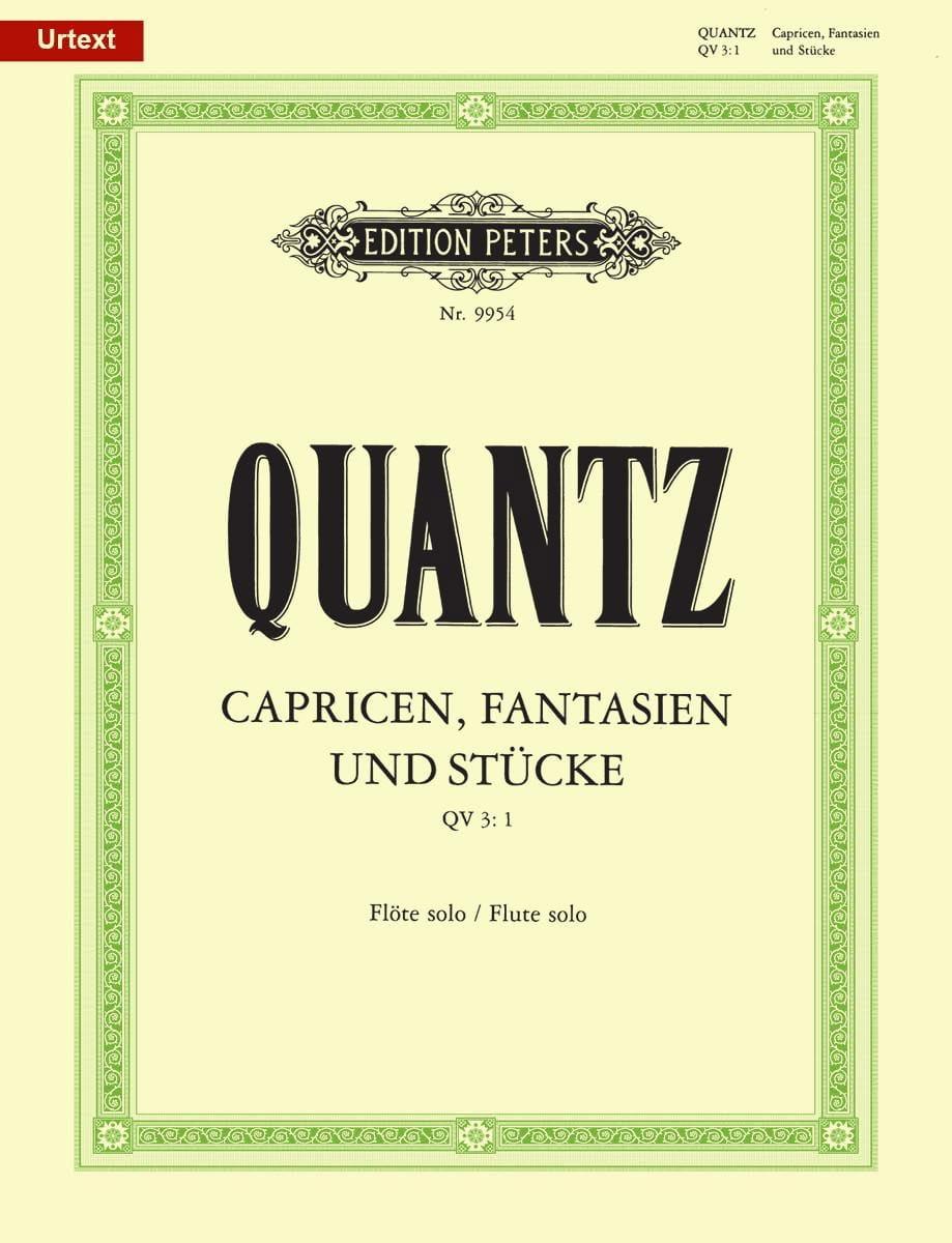Capricen, Fantasien und Stücke - Flöte solo - laflutedepan.com