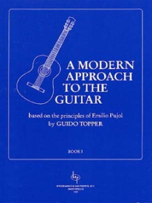 Guido Topper - A Modern Approach To The Guitar Volume 1 - Partition - di-arezzo.co.uk
