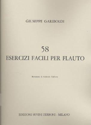 58 Esercizi facili per flauto - GARIBOLDI - laflutedepan.com