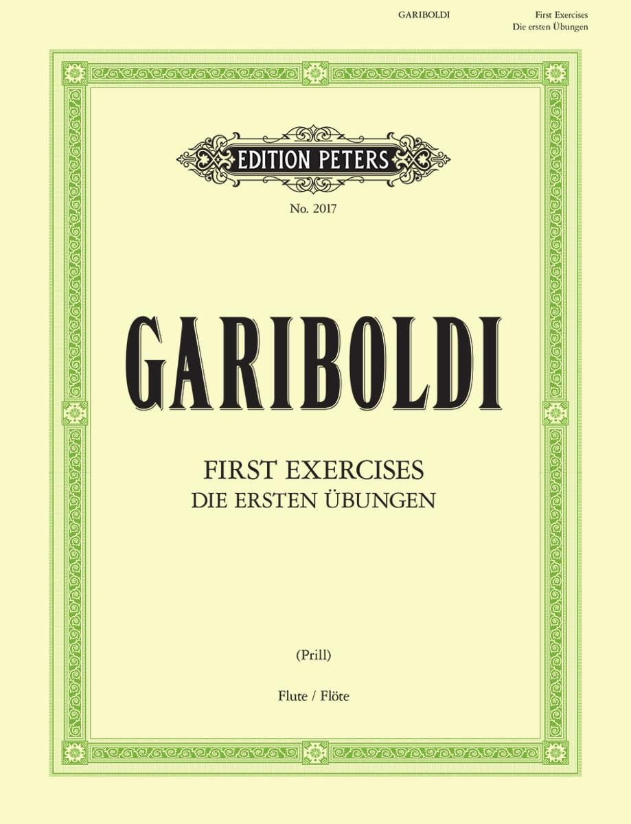 Giuseppe Gariboldi - First exercises for the Flute - Partition - di-arezzo.co.uk