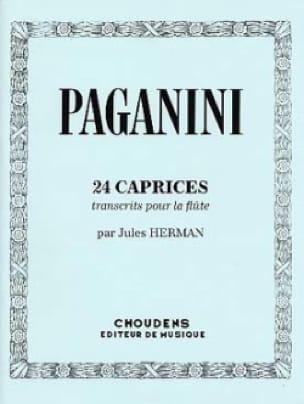 Niccolò Paganini - 24 Caprices - Partition - di-arezzo.co.uk