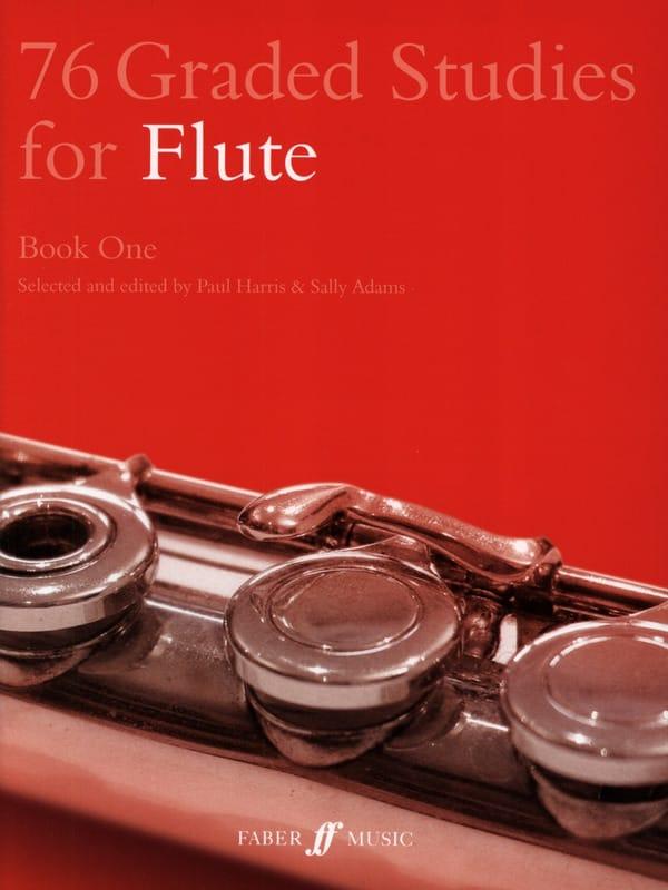 76 Graded Studies for flute - Book 1 - laflutedepan.com
